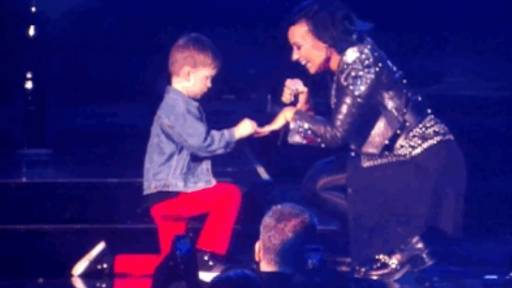 5-Year-Old Boy Proposes to Demi Lovato on Stage