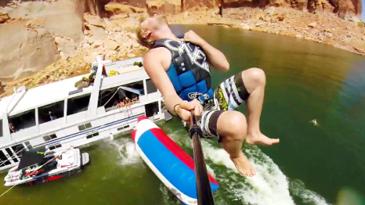 Devin Supertramp Makes a Day on the Lake Look Epic