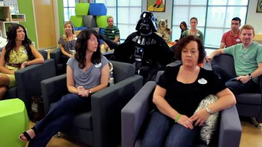 'Dark' Ideas While Brainstorming with Darth Vader