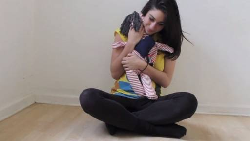 Give Someone You Love a Long-Distance Hug Using a Doll