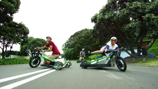 Tokyo Drifting... on Trikes?