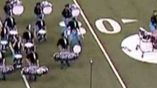 Judge Helps Reunite Drummer With Instrument During Competition