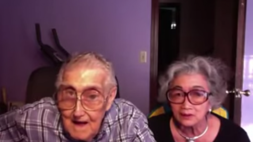 When an Elderly Couple Tries to Take a Picture on a Computer, Hilarity Ensues