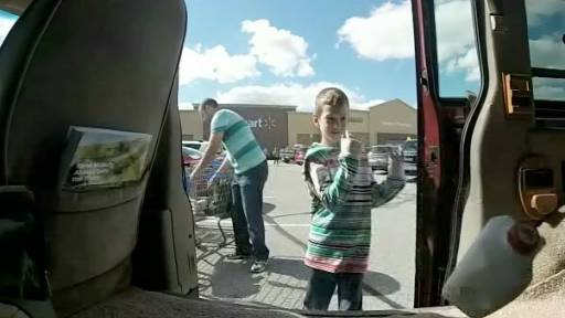 Father-Son Duo Teams Up For Awesome Grocery Run