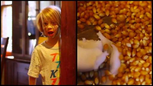 Foul-Mouthed Kid Makes Delicious Popcorn Recipe