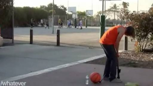 The Exploding Basketball Prank