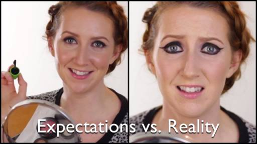 Beauty Expectations vs. Laughable Reality