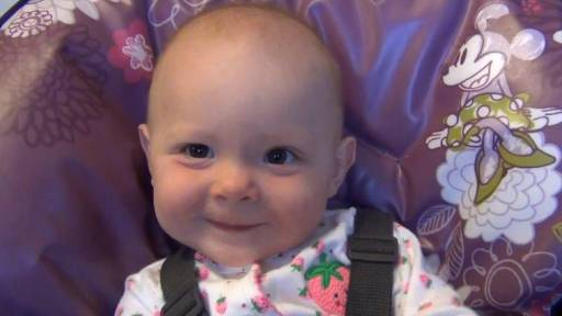 Cute Baby Girl Fake Sneezes After You Say 'Bless You!'