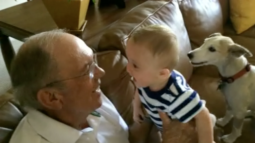 Adorable Baby Has a Case of the 'Giggles'