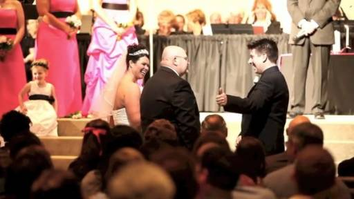 Dad's Words of Wisdom to Future Son-In-Law at the Altar