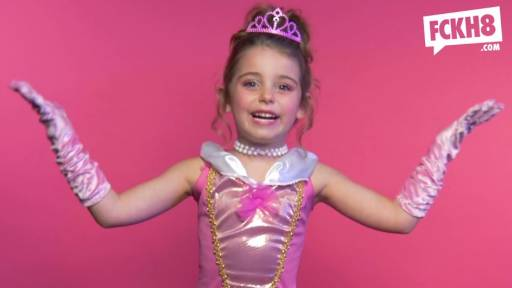 EXPLICIT: Little Princesses Dropping F-Bombs for Equality Is Amazing
