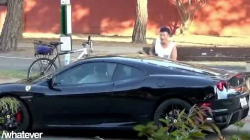 Would You Accept a Ride from a Stranger in a Ferrari?