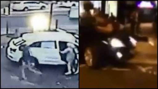 Violent and Scary Incidents Caught on Camera