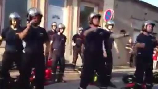 Firefighters Show Off Hot Dance Moves in Flash Mob