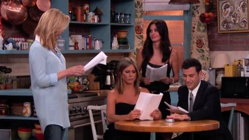 'Friends' Cast Reunion With Jennifer Aniston, Courtney Cox and Lisa Kudrow