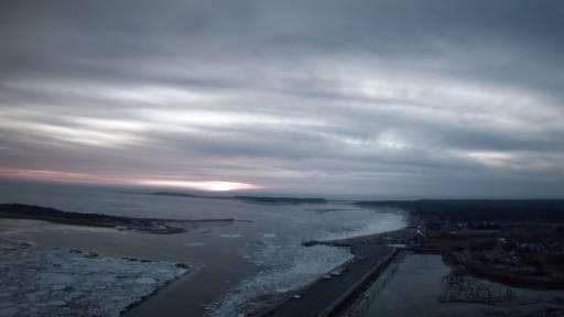 Drone Captures 'Iceberg Mosaic' Off Cape Cod