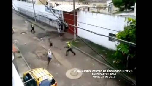 Riot at Colombian Juvenile Detention Center
