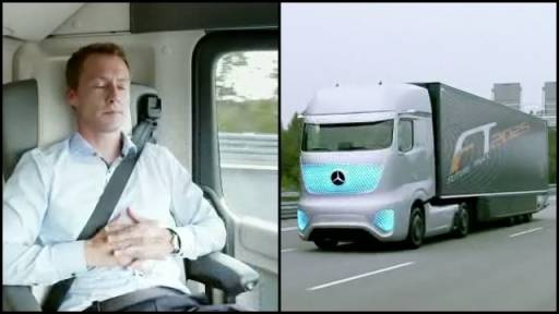 The Autonomous Driving Truck of the Future