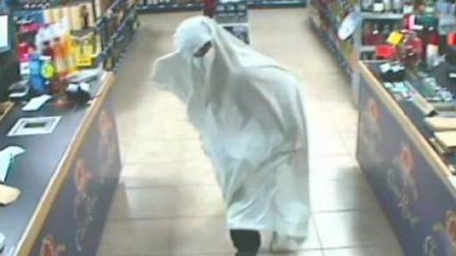 Ghostly Intruder and Stolen Apple Goods