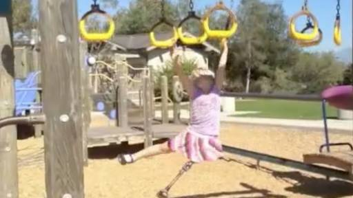 5-Year-Old Gianna Is Not Afraid to Fall