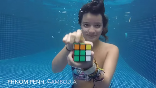 Bringing People Around the World Together by Solving a Rubik's Cube