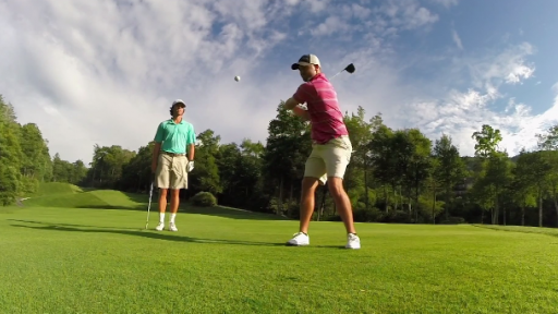 Golf Pros Make Trick Shots Look Easy