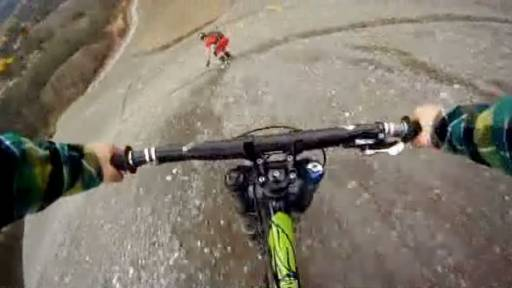 Downhill on Dirt Mounds