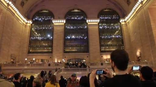 Grand Central Lights Up for the Terminal's 100th Birthday
