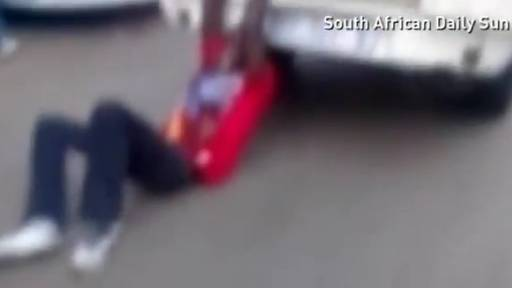 GRAPHIC: Man Tied to Police Van and Dragged Dies in Custody