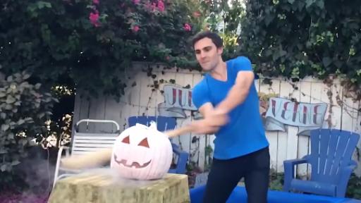Nothing Says 'Happy Halloween' Like Smashing Pumpkins