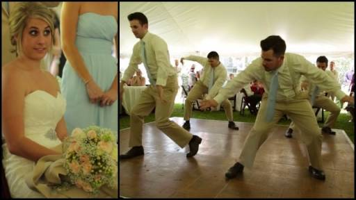 Awesome Timberlake Themed Groom's Dance Gives Bride Quite the Surprise