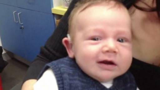 Little Boy Receives Hearing Aid and Offers a Pair of Firsts