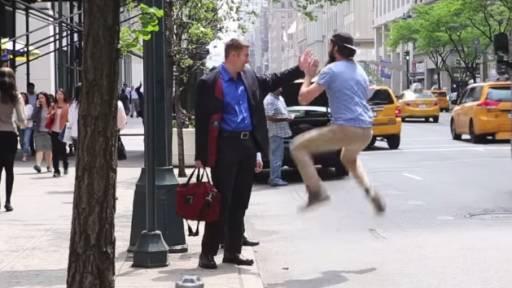 High Fives Around New York City