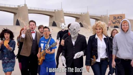 The History of Doctor Who in a One-Take Music Video