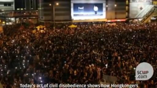 Hong Kong Protesters Demand Democratic Reforms