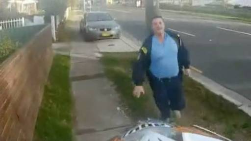 Original Video: Bike Stalls While Being Chased By Police