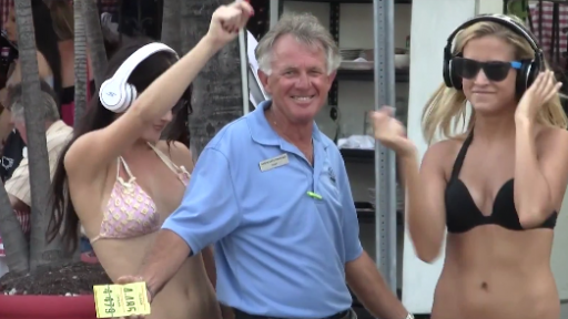 Playboy Playmate Likes to Dance With Strangers