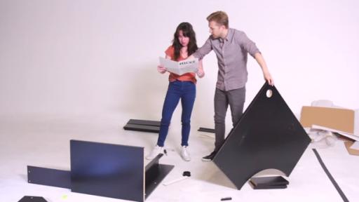 BuzzFeed Hosts a Couple's 'IKEA Furniture' Race