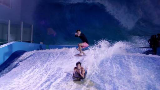 Surfing Indoors With Devin Supertramp