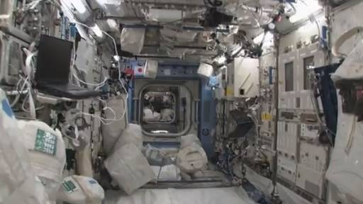 Daily Comeback: Tour Inside The Space Station
