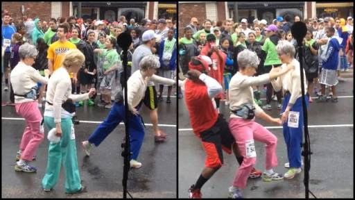 Grannies Get Down With the 'Wobble'
