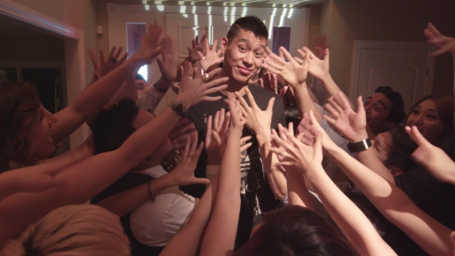 Jeremy Lin Is Moving on in True Hollywood Fashion