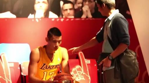 No, This Is Not a Wax Figure of NBA Star Jeremy Lin