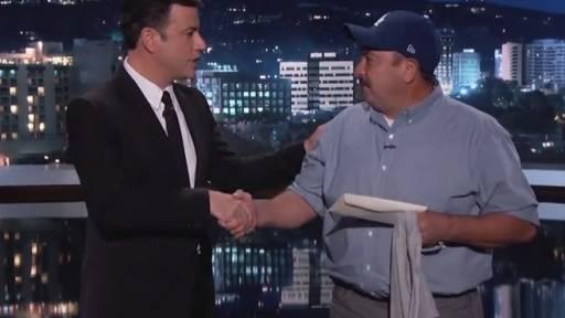 Jimmy Kimmel Surprises Los Angeles Hero