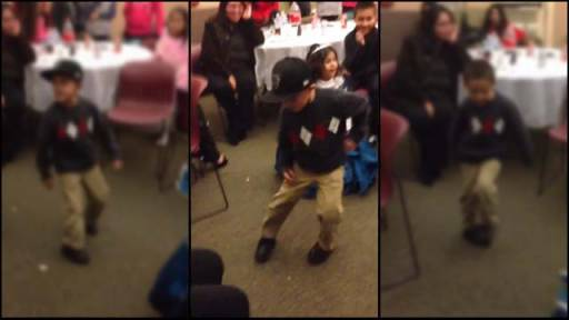 5-Year-Old Party Rocks Out With Sweet Moves