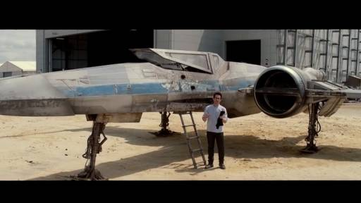 J.J. Abrams Unveils 'Star Wars' Vehicle and More Contest Info
