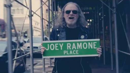 Coolest Homage to New York City and Joey Ramone Ever