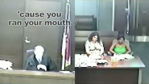 When the Judge Tells You to Be Quiet, You'd Better Stop Talking!