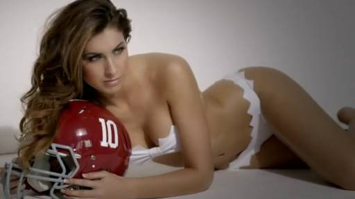 Katherine Webb in a Bikini for Sports Illustrated 2013