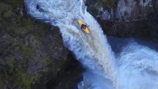 Kayaks and RC Helicopters Combine to Produce Some Phenomenal Footage